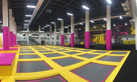 Trampoline Park Access: One or TwoHour Session for One or Two at Boost Leicester