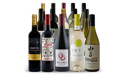 $69 for 15 Bottles of Wine from Splash Wines ($234 Value)