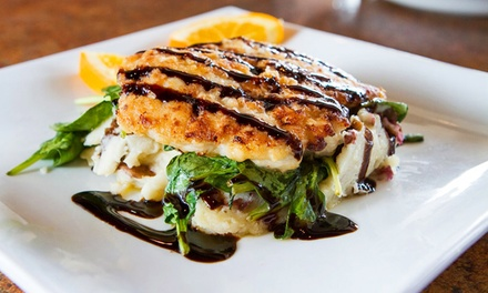 American Dinner Food for Two or Four or More at Garry's Grill (Up to 42% Off)