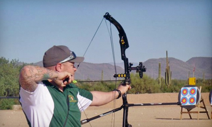Arizona Archery Club - Deer Valley: One-Year Standard or Family Membership at Arizona Archery Club (Up to 53% Off)