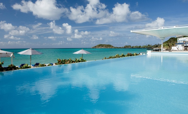 TripAlertz wants you to check out 4- or 7-Night All-Inclusive Stay at Sonesta Great Bay Beach Resort Casino & Spa in St. Maarten. Includes Taxes and Fees. All-Inclusive Beachfront Caribbean Resort - All-Inclusive St. Maarten Resort