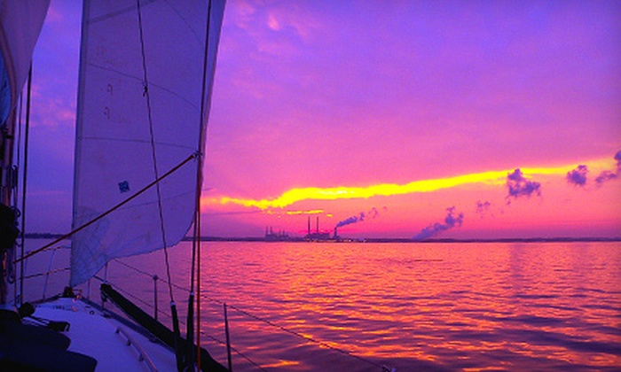 Atlantic Sailing Experience - 3: Four-Hour Weekday or Weekend Dinner or Brunch Sail for Two from Atlantic Sailing Experience (Up to 58% Off)