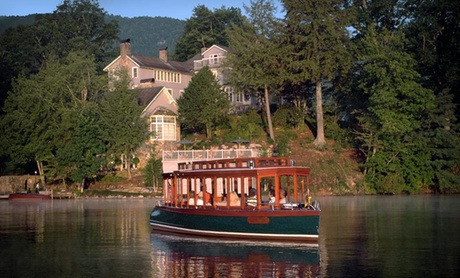 4-Diamond Lakeside Inn in Western Carolina