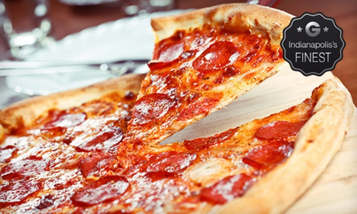 Cool River Pizza - Noble West: $10 for $20 Worth of Pizza and Drinks at Cool River Pizza