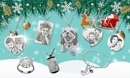 Justyling: gepersonaliseerde zilveren ketting, armband of ring met persoonlijke foto en/of naam erin gegraveerd
