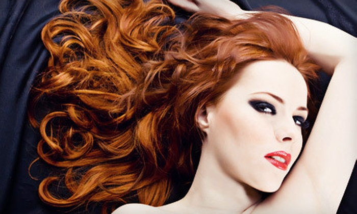 VIP Salon & Spa - Multiple Locations: Salon Services at VIP Salon & Spa (Up to 79% Off). Four Options Available.