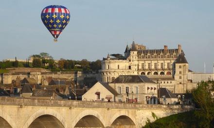 Vol en montgolfière Châteaux Loire et dégustation, haute saisonde mars à octobre à 149,99€ avec Touraine Terre d'Envol