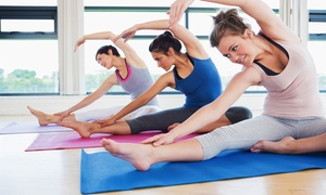 Dance Soul Motion: 5 or 10 Yoga, Pilates, Barre, and Zumba Classes at Dance Soul Motion (Up to 61% Off)
