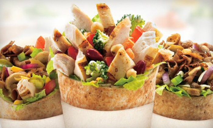 Extreme Pita - Desert View: Pita Sandwiches at Extreme Pita (Up to 53% Off). Two Options Avalable.