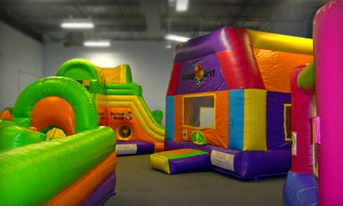 Jump City - Ann Arbor: Six Open-Bounce Visits or Party for up to 15 Kids at Jump City (Up to 52% Off)