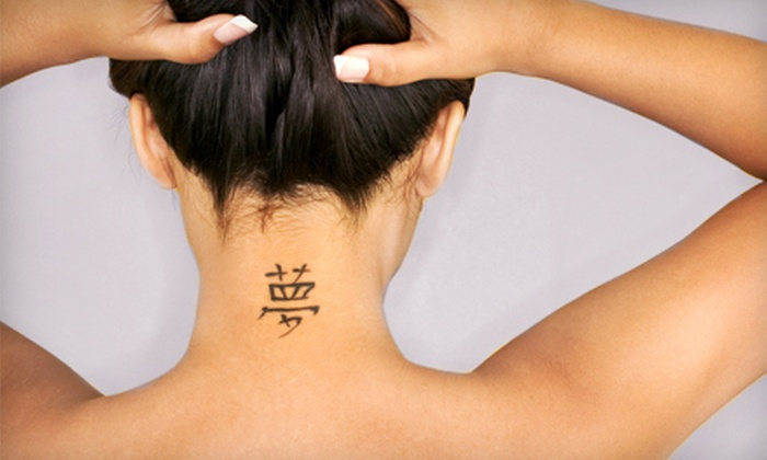 Laser Med Spa - Multiple Locations: Three Laser Tattoo-Removal Sessions for Small, Medium, or Large Area at Laser Med Spa (Up to 86% Off)