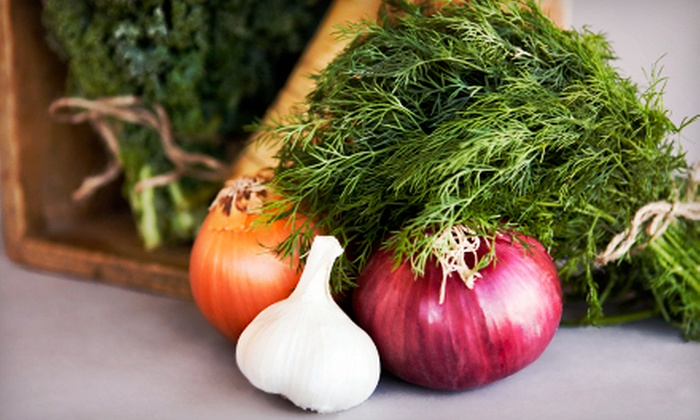 Organics of Naples: One or Four Boxes of Organic Produce from Organics of Naples (Up to 51% Off)