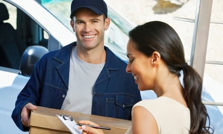Five Scheduled Package Deliveries or a Month of Scheduled Deliveries and Returns from Doorman.it (Up to 75% Off)