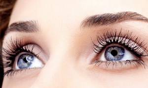 New Glamour Day Spa: Full Set of Eyelash Extensions with Option for One Touchup at New Glamour Day Spa (Up to 66% Off)