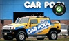 Car Pool, LLC - Multiple Locations: $30 for an Express Pro Wax Plus Car-Wash Package at Car Pool Car Wash ($64.95 Value)