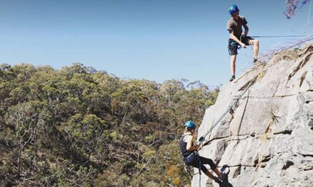 3-Hr Abseiling: Weekday ($49) or Weekend for 1 ($59), or Weekday ($98) or Weekend for 2 ($118) at Rock Solid Adventure