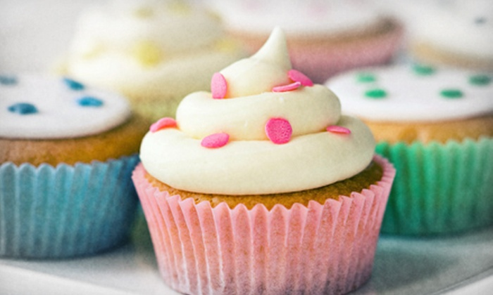 The Cakery at King Farm - Rockville: Cupcakes, Cake, and Ice Cream at The Cakery at King Farm (Half Off). Two Options Available.