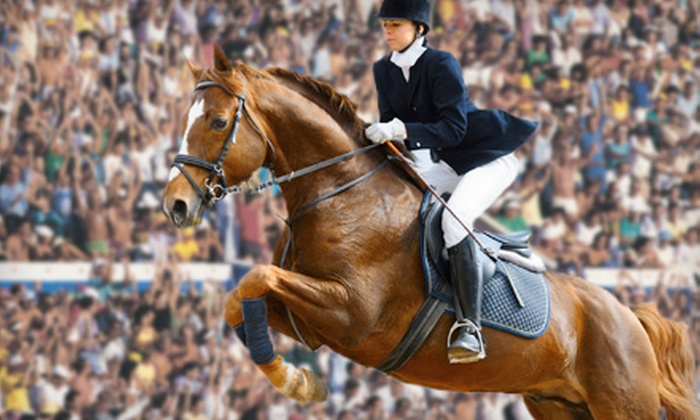American Gold Cup - Old Salem Farm: $7.50 for the American Gold Cup Equestrian Show-Jumping Competition at Old Salem Farm on September 14 or 15 ($15 Value)