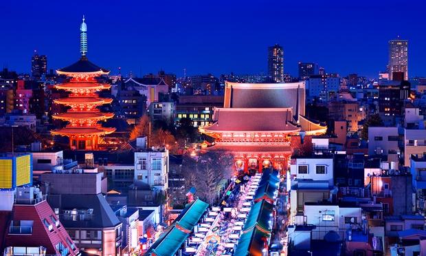 Tokyo: Delta Airlines Flights 1