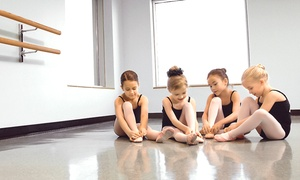The Dance Shop II: 5 Dance Classes or Princess Ballerina Mini Camp for One Child at The Dance Shop II (Up to 67% Off)