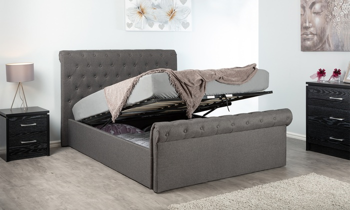 Harrison Sleigh Bed Groupon