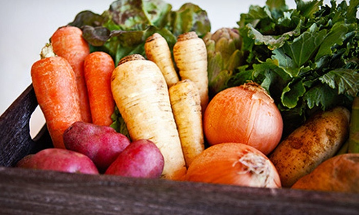 Freggies: $19 for One Week of Seasonal Organic-Produce Delivery from Freggies ($39.99 Value)