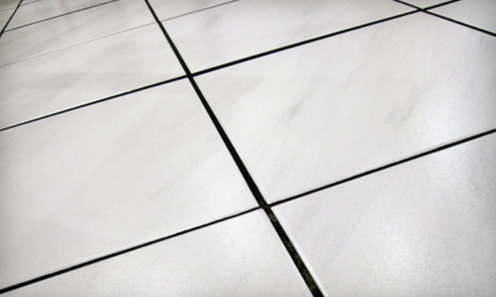 DBA Budget Cleaning Service LLC - Roseville: $179 for Bathroom Tile and Grout Restoration from DBA Budget Cleaning Service LLC ($375 Value)
