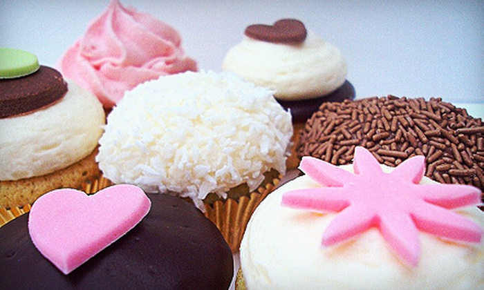 Towne Cupcake - Central Jersey: One or Two Dozen Cupcakes with Free Local Delivery from Towne Cupcake (52% Off)