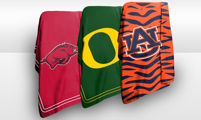"NCAA 50""x60"" Classic Fleece Throws: NCAA 50""x60"" Classic Fleece Throw. Multiple Teams Available. Free Returns."