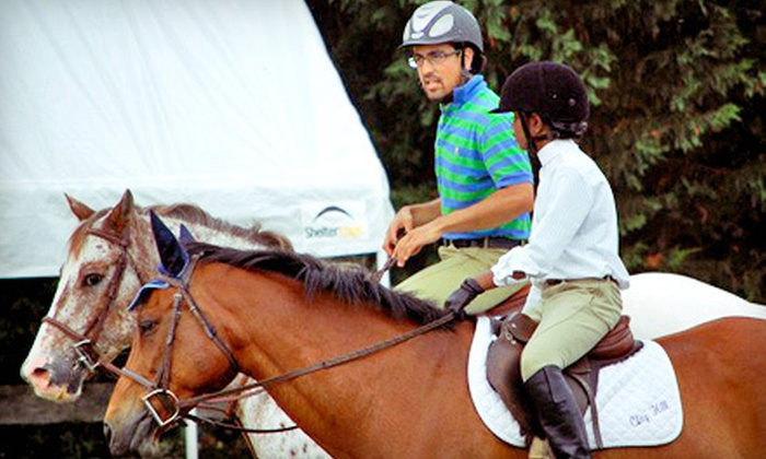 Clay Hill Stables - 2, Bladensburg: One or Four Beginner Riding Lessons, or One Intermediate/Advanced Riding Lesson at Clay Hill Stables (Up to 51% Off)