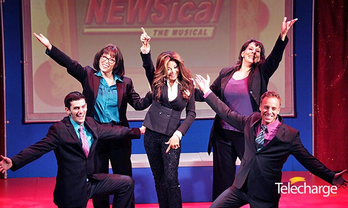 """NEWSical the Musical"" - Theatre Row - The Kirk Theatre: NEWSical the Musical at Theatre Row – The Kirk Theatre on June 19–July 25 (Up to 61% Off)"