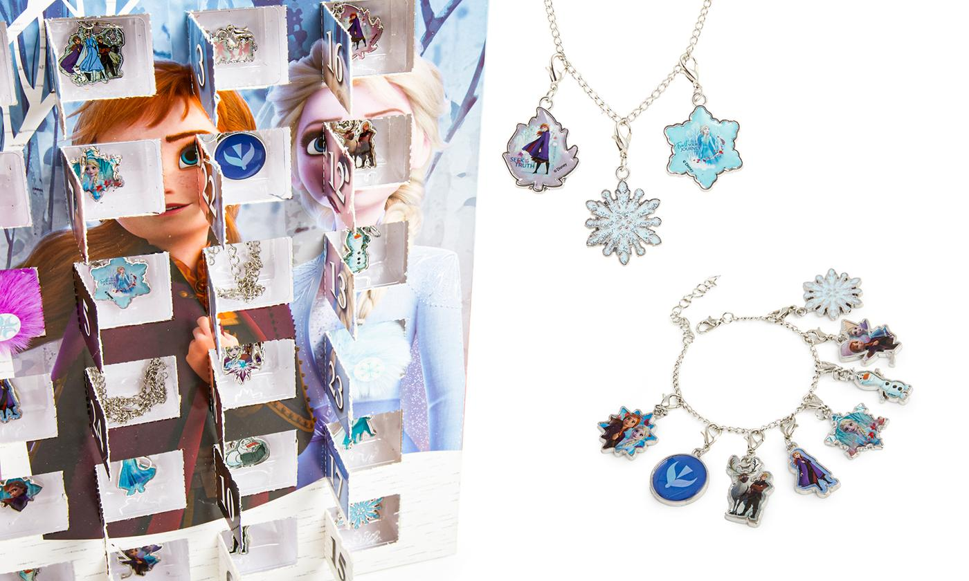 Clearance Frozen 2 Jewellery Advent Calendar with 24 Mini Jewellery Gifts