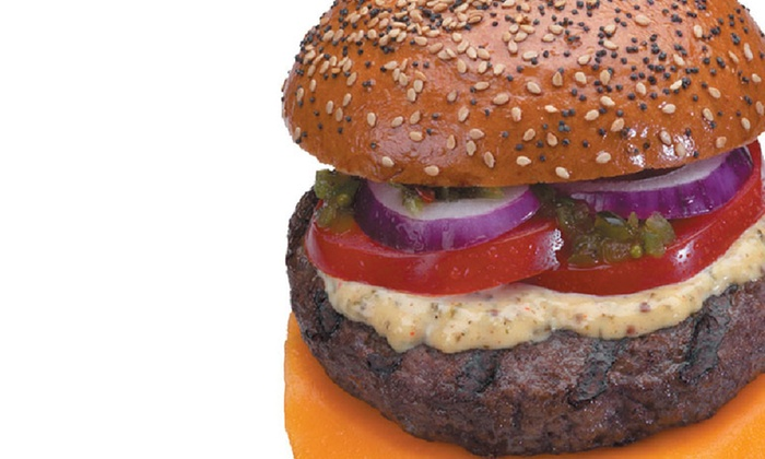 Hero Certified Burgers - Downtown Toronto: Two Burger Combo Meals at Hero Certified Burgers, Queen Street West Location (40% Off). Two Options Available.