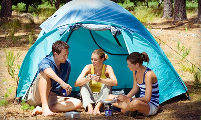 Wolfe's Neck Farm - Freeport: $20 for One-Night Campsite Rental from Recompence Shore Campground at Wolfe's Neck Farm (Up to $46 Value)