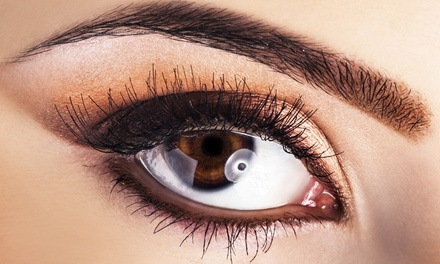 Eyebrow or Eyelash Tint, Eyebrow Contour, Eye Mask, and Optional Maintenance Visit at BrowGal (Up to 53% Off)