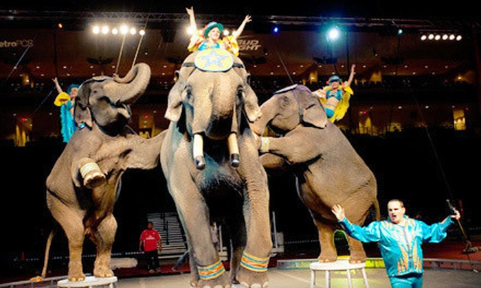 Zuhrah Shrine Circus - Target Center: Zuhrah Shrine Circus Show at Target Center (Up to 53% Off). Four Showtimes and Two Seating Options Available.