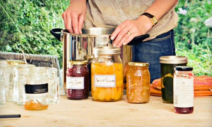 Garden Inspirations - Twin Lakes Estates: Jam or Pickle-Canning Class for One or Pressure-Canning for One or Two at Garden Inspirations in Waxahachie (Up to 53% Off)
