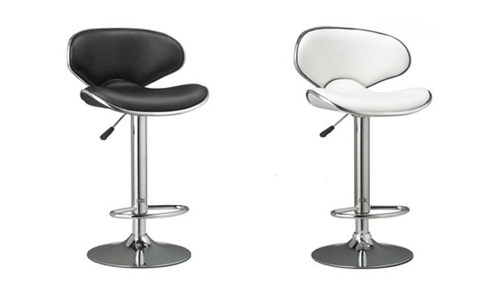 tabourets de bar groupon. Black Bedroom Furniture Sets. Home Design Ideas