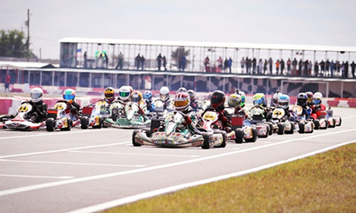 Orlando Kart Center - Orlando: Three or Six 10-Minute Go-Kart Races at Orlando Kart Center (Up to 47% Off)