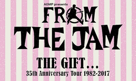 From the Jam: The Gift 35th Anniversary Tour 1982-2017, Friday 3 November at O2 Academy Oxford (Up to 33% Off)