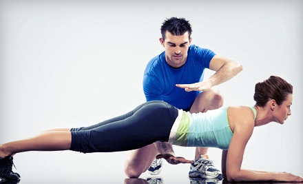 Boot-Camp Classes for One or Two, or Three Personal-Training Sessions at The Body Firm Fitness (Up to 85% Off)