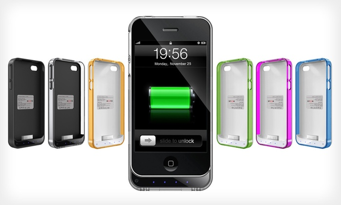 Mota iPhone 4/4S Extended-Battery Case: $29 for a Mota iPhone 4/4S Extended-Battery Case ($69.95 List Price). Five Colors Available. Free Shipping and Returns.