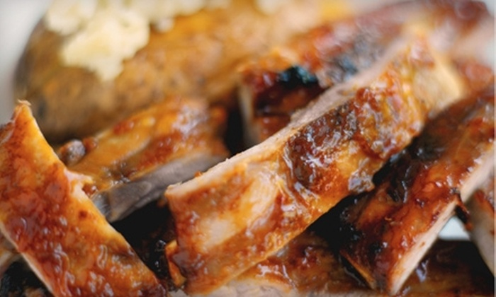 Bodacious Barbeque - Clubview: Barbecue at Bodacious Barbeque (Half Off). Two Options Available.
