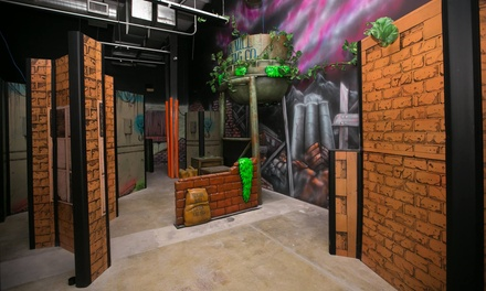 Unlimited Laser Tag, Game Cards, and Food for Two or Four at Dizzy Family Fun Center (Up to 48% Off)