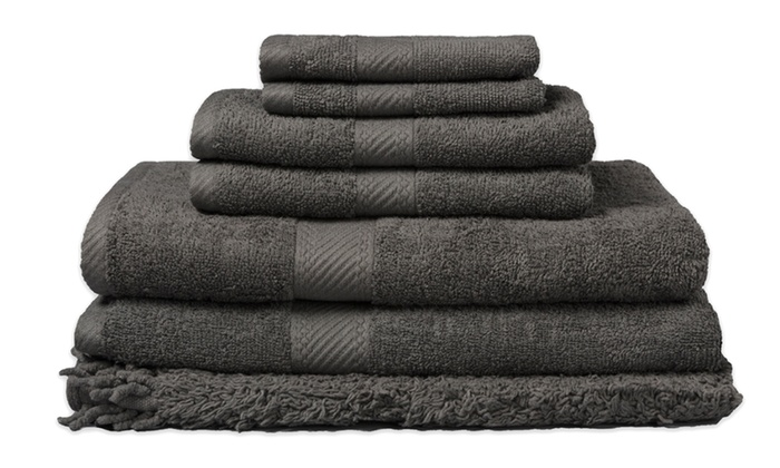 Incroyable Belvedere 100% Cotton Bath Towel Set With Matching Rug (7 Piece) ...