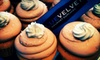 Blue Velvet Cupcakes - Nashville-Davidson metropolitan government (balance): $20 for One Dozen Cupcakes for Delivery from Blue Velvet Cupcakes ($40 Value)