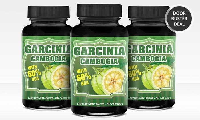 Buy 2 Get 1 Free: Garcinia Cambogia: 1 Bottle of Garcinia Cambogia or 2 Bottles with 1 Bottle Free