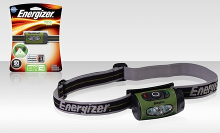Energizer Triple Beam LED Headlight. Free Returns.