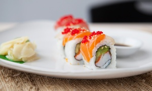 Asian Tokyo: $25 for Two Regular Sushi Rolls and Two Specialty Rolls for Takeout at Asian Tokyo (Up to $40.40 Value)