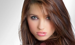 Euro Style Hair & Beauty: Cut and Blowdry or Cut with Partial or Full Highlights at Euro Style Hair & Beauty (Up to 58% Off)